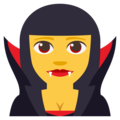 Woman Vampire on EmojiOne 3.1