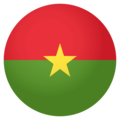 Burkina Faso on EmojiOne 4.0