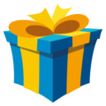 Wrapped Gift on EmojiOne 4.0