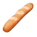 Baguette Bread on Emojipedia 5.2