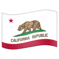 Flag for California (US-CA) on Emojipedia 5.2