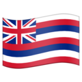 Flag for Hawaii (US-HI) on Emojipedia 5.2