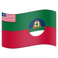 Flag for Margibi (LR-MG) on Emojipedia 5.2