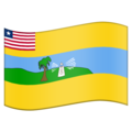Flag for Maryland (LR-MY) on Emojipedia 5.2