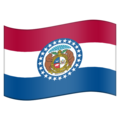Flag for Missouri (US-MO) on Emojipedia 5.2