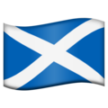 Flag for Scotland (GB-SCT) on Emojipedia 5.2