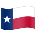 Flag for Texas (US-TX) on Emojipedia 5.2