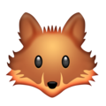 Fox Face on Emojipedia 5.2