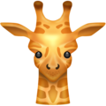 Giraffe on Emojipedia 5.2