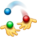 Person Juggling on Emojipedia 5.2