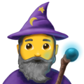 Mage on Emojipedia 5.2