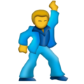Man Dancing on Emojipedia 5.2