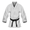 Martial Arts Uniform on Emojipedia 5.2