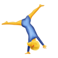 Person Cartwheeling on Emojipedia 5.2