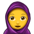 Woman With Headscarf on Emojipedia 5.2