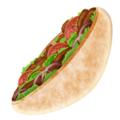 Stuffed Flatbread on Emojipedia 5.2