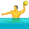 Person Playing Water Polo on Emojipedia 5.2