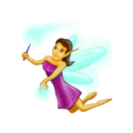 Woman Fairy on Emojipedia 5.2