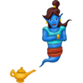 Woman Genie on Emojipedia 5.2