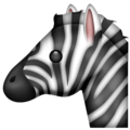 Zebra on Emojipedia 5.2