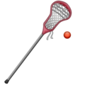 Lacrosse Stick And Ball on Emojipedia 6.0