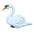 Swan on Emojipedia 6.0