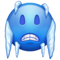 Cold Face on Emojipedia 11.0