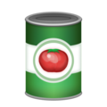 Canned Food on Emojipedia 11.1