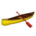 Canoe on Emojipedia 11.1