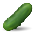 Cucumber on Emojipedia 11.1