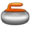 Curling Stone on Emojipedia 11.1