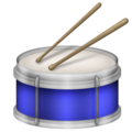 Drum on Emojipedia 11.1