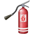 Fire Extinguisher on Emojipedia 11.1
