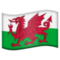 Wales on Emojipedia 11.1
