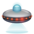 Flying Saucer on Emojipedia 11.1