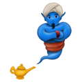 Genie on Emojipedia 11.1