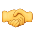 Handshake on Emojipedia 11.1