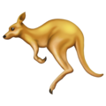 Kangaroo on Emojipedia 11.1
