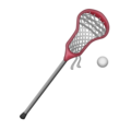 Lacrosse on Emojipedia 11.1