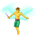 Man Fairy on Emojipedia 11.1