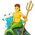 Merman on Emojipedia 11.1