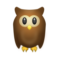 Owl on Emojipedia 11.1
