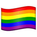 Rainbow Flag on Emojipedia 11.1