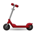 Kick Scooter on Emojipedia 11.1