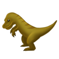 T-Rex on Emojipedia 11.1