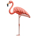 Flamingo on Emojipedia 12.0
