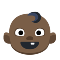 Baby: Dark Skin Tone on Facebook 2.1