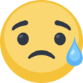 Disappointed but Relieved Face on Facebook 2.1
