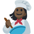 Woman Cook: Dark Skin Tone on Facebook 2.1