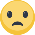 Frowning Face With Open Mouth on Facebook 2.1